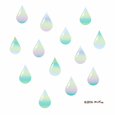 雨のしずく