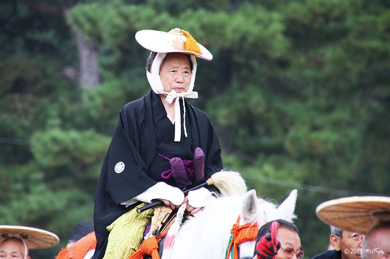 城使(徳川城使上洛列/江戸時代)