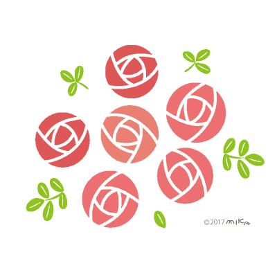 バラの描き方 工房momo