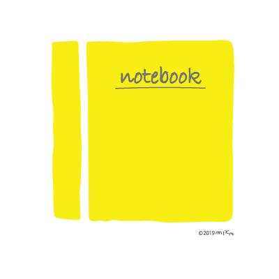 ノート(黄色)