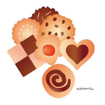 クッキー7つ