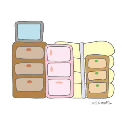 ひっこしの荷づくり