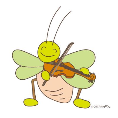 ヴァイオリニスト②(虫たちののオーケストラより)
