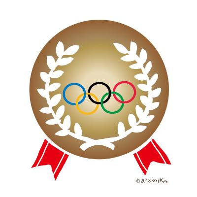 オリンピックの銅メダル