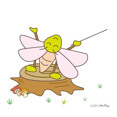指揮者(虫たちのオーケストラより)