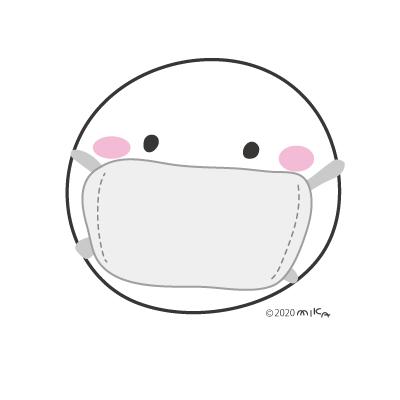 マスク(しろっ子)