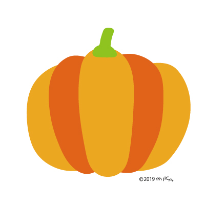 かぼちゃ(オレンジ)
