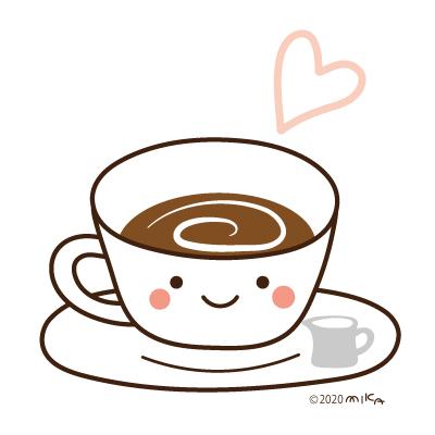 ホットコーヒー(背景白)