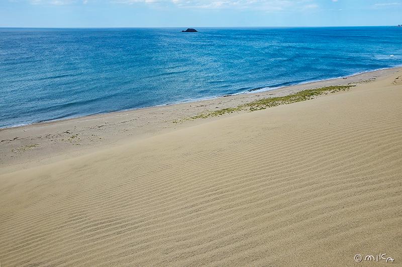 鳥取砂丘と海②
