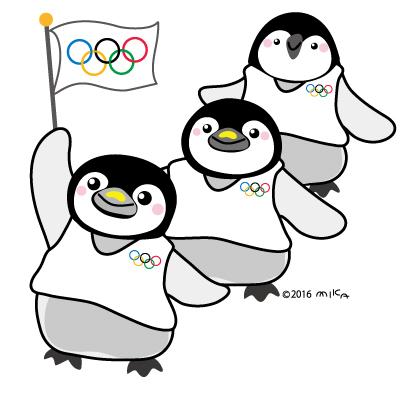 ペンギンさんオリンピックの行進