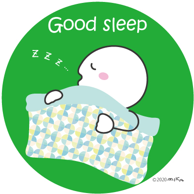 しっかり睡眠①(しろっ子)