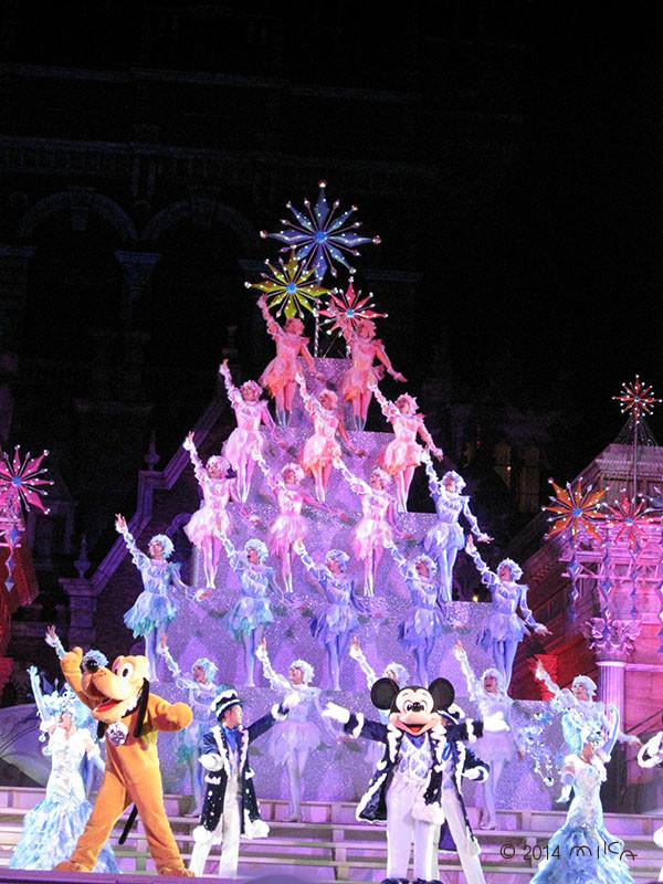 ディズニーシーのクリスマスのショー