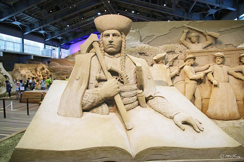 ヤーノシークの伝説/砂の美術館(鳥取砂丘)2020年より