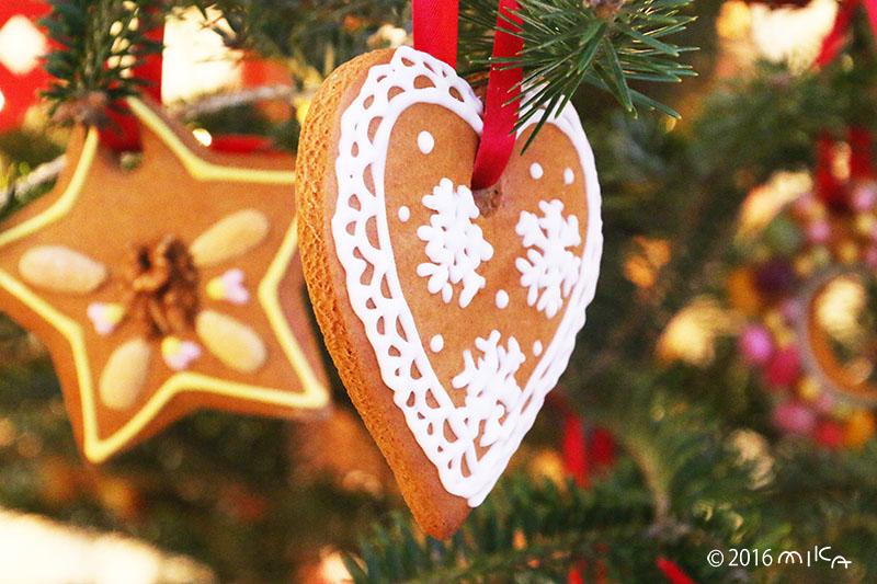 ハートと星のクッキー