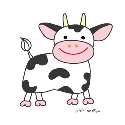 雄牛のイラスト