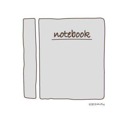 ノート(白)