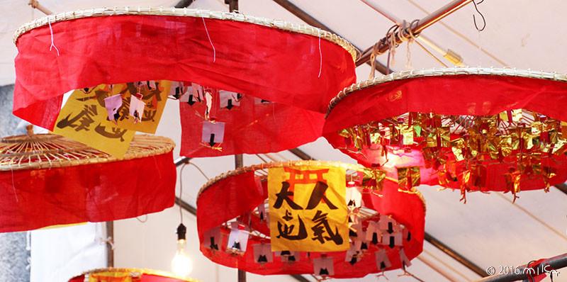 人気傘(京都ゑびす神社の十日えびす)②
