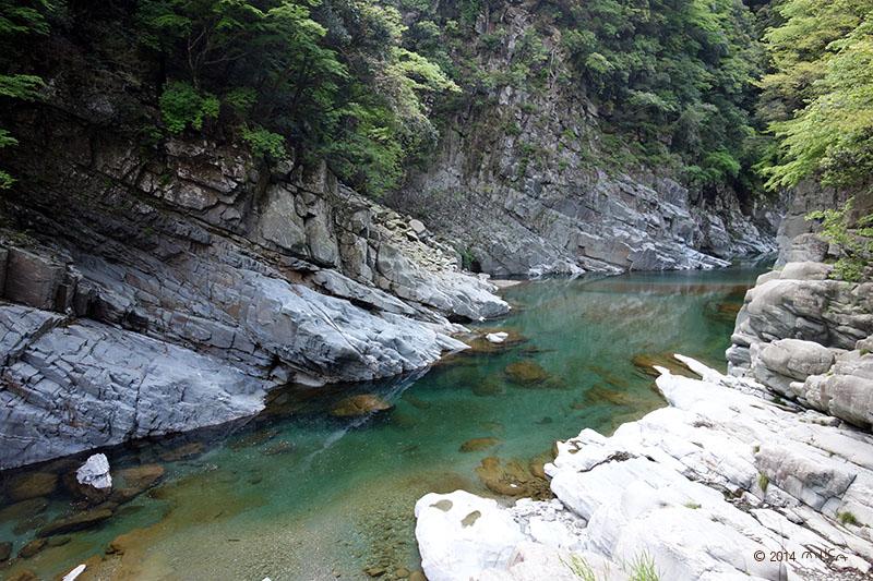 祖谷渓谷(徳島県)