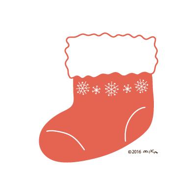 クリスマスのくつした