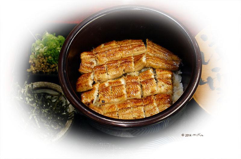 うなぎ丼(関東風)
