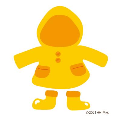 黄色いカッパ