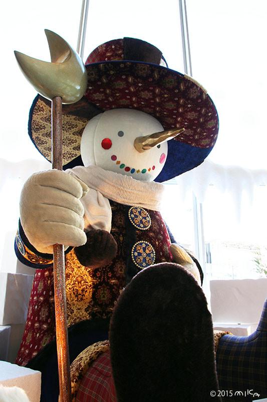 ハービスPLAZA ENTの大きなスノーマン(梅田スノーマンフェスティバル2015)