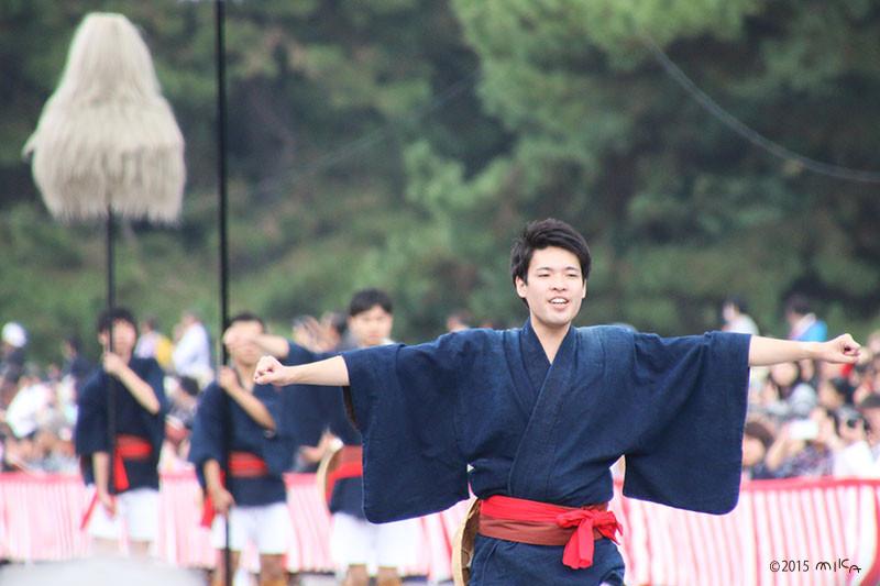 時代祭で活躍する京都の大学生のみなさん