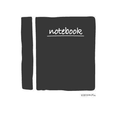 ノート(黒)