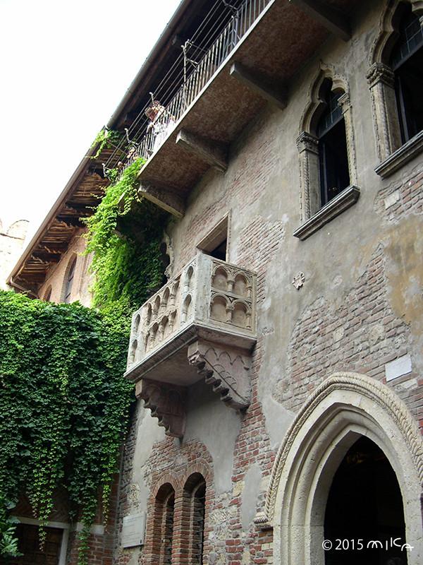 ジュリエッタの家(イタリア ヴェローナ)