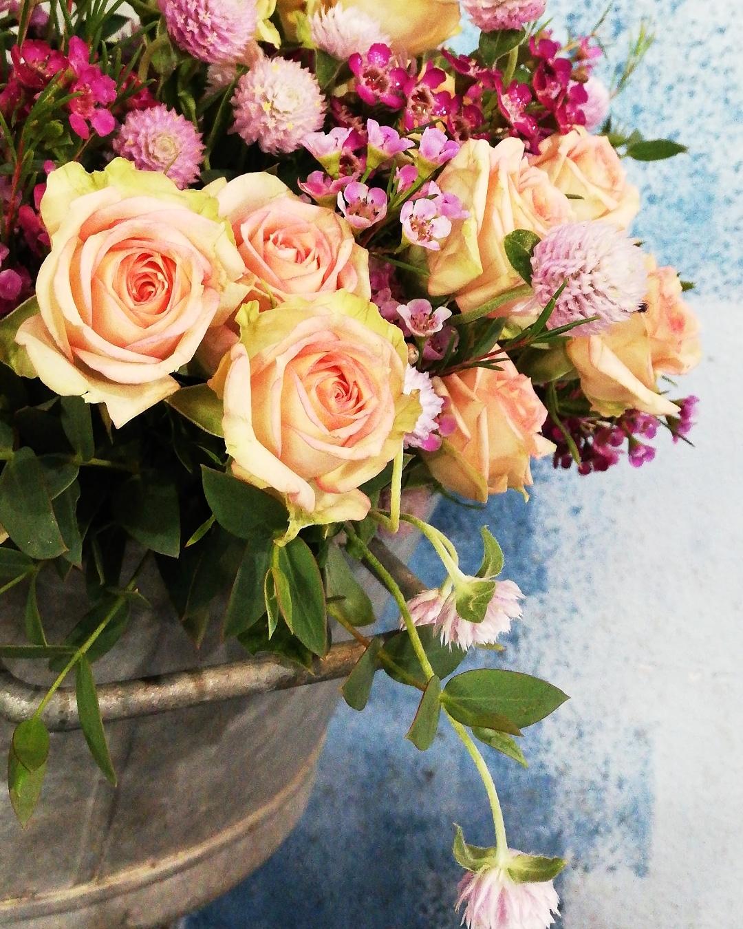 Toute les semaines le petit bouquet du jardin (à partir de 15€)