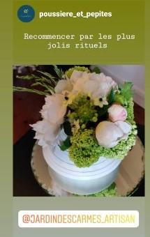Bouquet d'entrée  et de salles d'attente