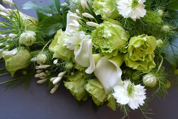 Blanc et vert