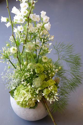Vase de fleurs coupées