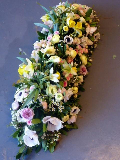 Dessus de cercueil printemps