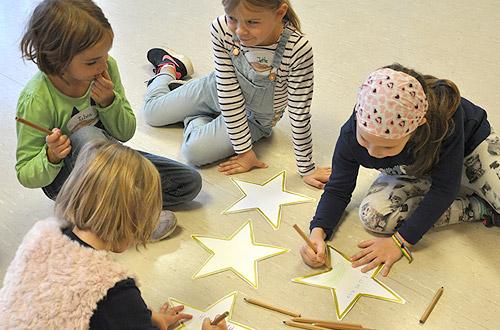 Sterne für den Walk of Fame des Entdecker-Clubs