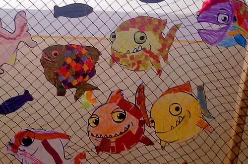 Vielfältige und fantasiereiche Fische ... individuell wie die Künstler, die sie gemacht haben.