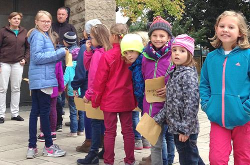 Wir erforschen die kath. Kirche in Epfenbach.