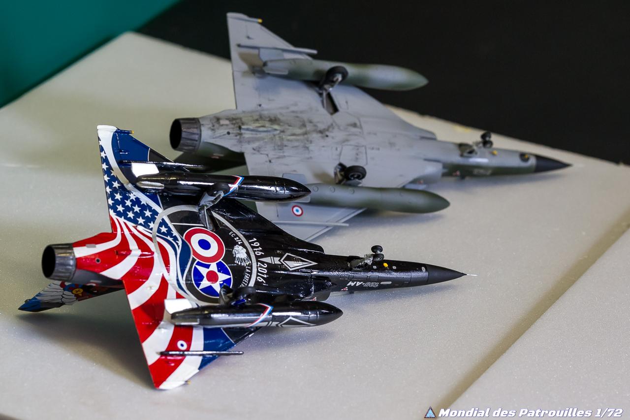 Ramex Delta Mirage 2000N maquette 1/72