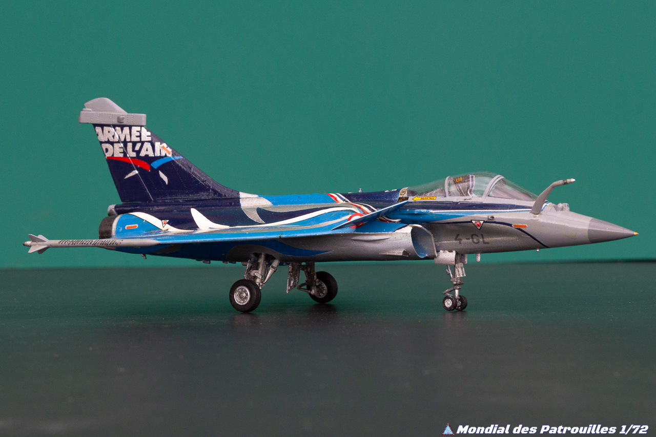 Rafale Solo Display Maquette 1/72 : 2017