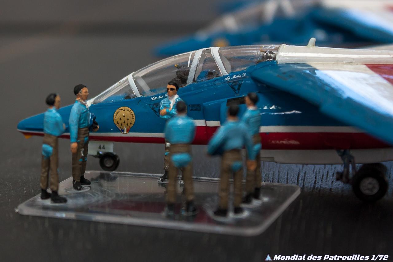 Patrouille de France Alphajet 1/72