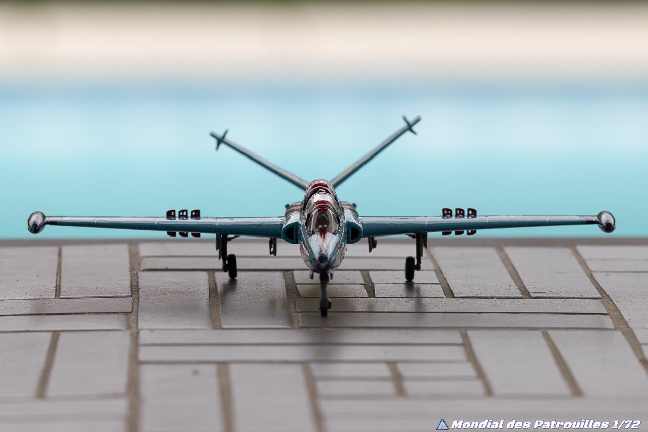Couleur Fin du Fouga CM-175 Zéphyr de Escadrille 59 S maquettes 1/72
