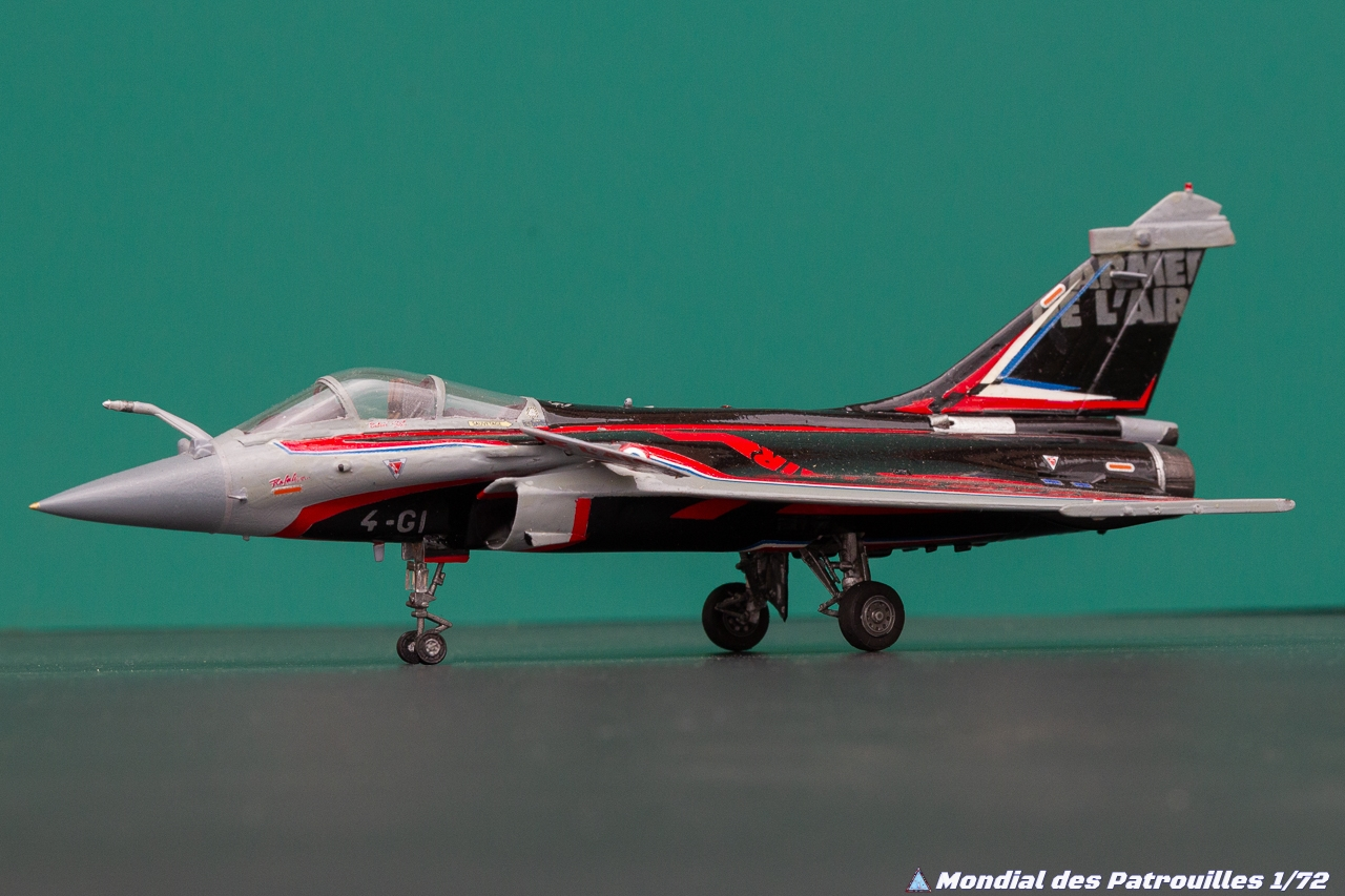 Rafale Solo Display Maquette 1/72 : 2018