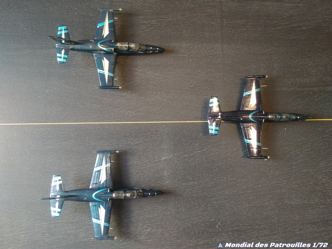 L-39 Albatros Team Sparflex Maquette 1/72