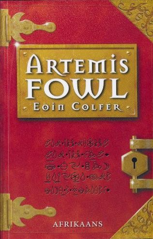Die Afrikaanse vertaling van 'Artemis Fowl'.