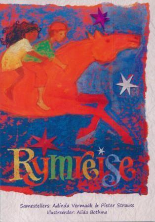 """Die digbundel """"Rymreise"""" verskyn by Via Afrika."""