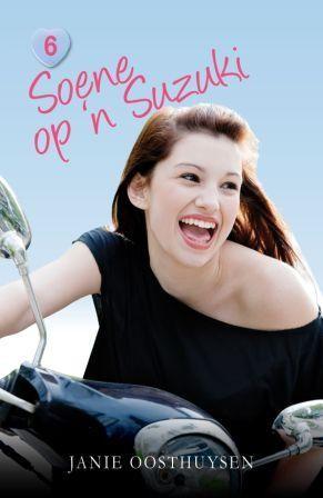"""""""Soene op 'n Suzuki"""" - chick lit in Afrikaans, uitgegee deur NB Uitgewers"""