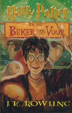 'n Harry Potter-vertaling deur Janie Oosthuysen, uitgegee deur NB Uitgewers.