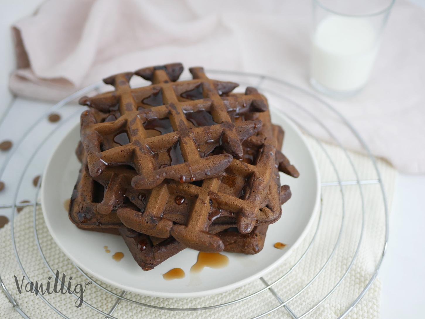 Schokoladenwaffeln