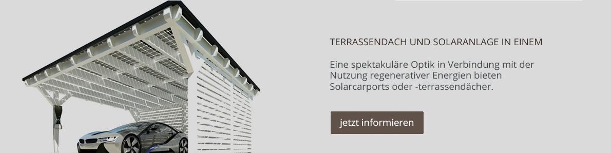 Carport & Terrassendach mit Solar