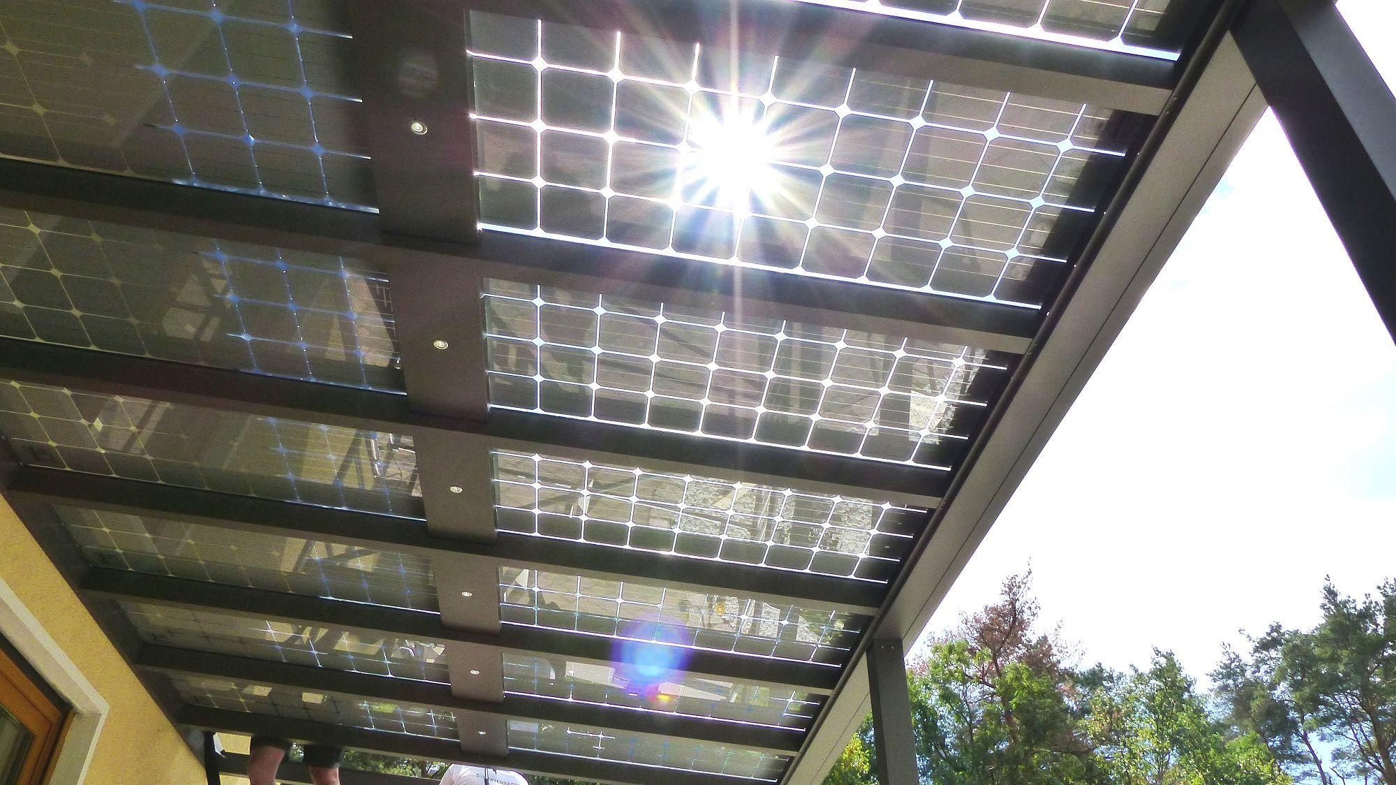 Picturesque Solarterrassen Photo Of Video Terrassendach Solar ▷ · Funktion Solarterrasse